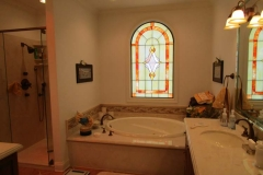 Cook bath stained glass
